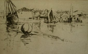 Etching Course London Fine Art Studios Frank Short 1857-1945 Aquatint