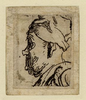 Rembrandt Old Man with Snub Nose 1629