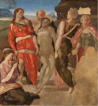 London Fine Art Studios Michelangelo, Entombment 1501