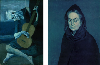 Picasso's Blue period Portraits
