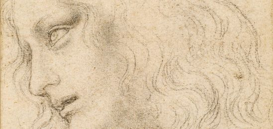 Leonardo da Vinci, The head of St Philip, c.1495, Royal Collection Trust, Her Majesty Queen Elizabeth II 2018