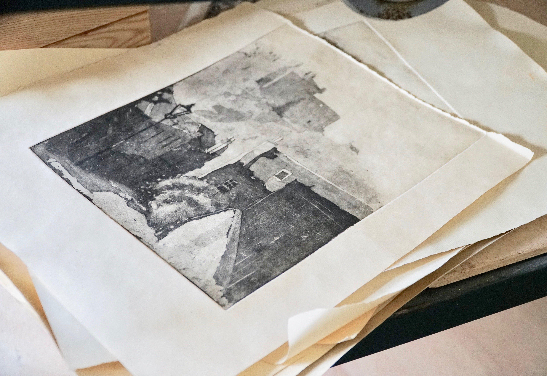 London Fine Art Studios Etching Course
