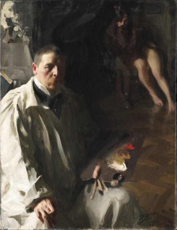 Anders Zorn Palette