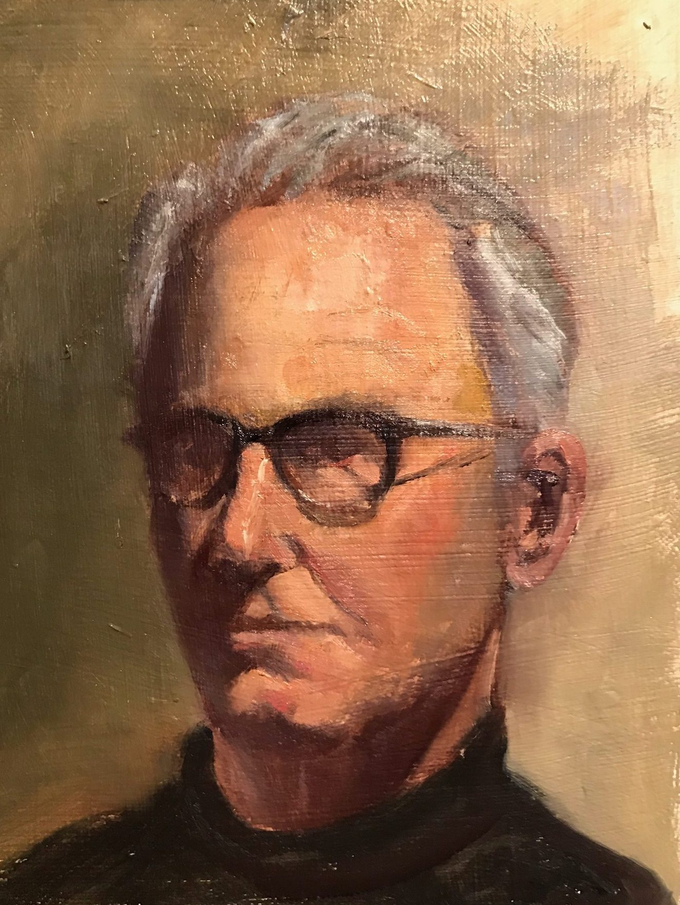oil portrait, london fine art studios