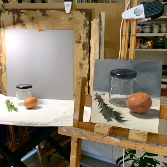 Oil painting courses